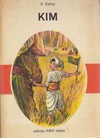 KIM di Rudjard Kipling Edizione AMZ 1963 ILLUSTRATO A COLORI