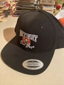 Detroit Bad Boys Snap Back SnapBack Cap Hat Retro Style New Flat Bill Pistons