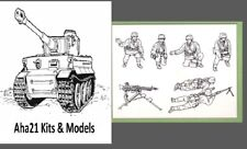 Armourfast 1/72 Scale WWII German Machine Gun Team Model Kit - Contains 1 Sprue