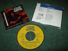 Ozzy Osbourne - Ten Commandments  (cd)  black sabbath randy rhoads jake e lee