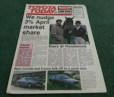 1980 TOYOTA TODAY News - CRESSIDA CELICA CROWN COROLLA HI ACE - UK BROCHURE