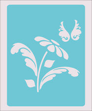 Flower Butterfly Stencil Crafts Paint Color Wall Decoration  Kids Template #39