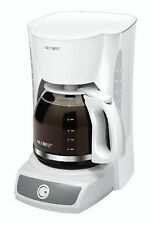 Mr. Coffee CG12 12 Cups Coffee Maker - White