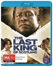 The Last King Of Scotland (Blu-ray, 2010) Forest Whitaker Brand New & Sealed