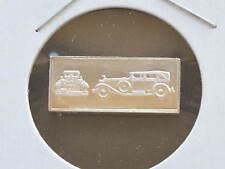 1928 Isotta Fraschini 2.5g Proof Sterling Silver Bar Ingot Franklin Mint D0910