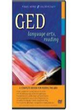 GED Language Arts, Reading (DVD, 2004, 3-Disc Set)