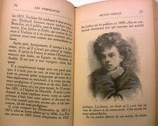 1933LES SYMBOLISTES POESIE VERLAINE RIMBAUD LOUYS DE REGNIER LIVRE BOOK GRAVURE