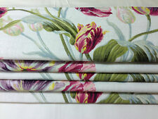 Laura Ashley Gosford Fabric in Cranberry made to measure roman blinds,all sizes