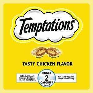 MEGA Temptations Jumbo Stuff Tasty Chicken Flavor Treats For Cats