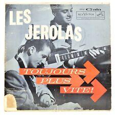Les Jerolas Toujours Plus Vite LP Vinyl Album Gala RCA Victor CGP 116