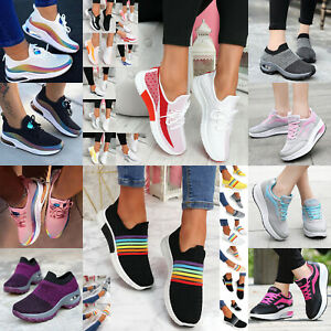 Women Safety Shoes Lightweight Toe Work Shoes Walking Sneakers Trainers Boots
