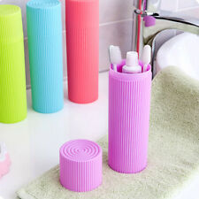 Travel Toothbrush Brush Cap Clean Protect Box Case Storage Candy Color Practical