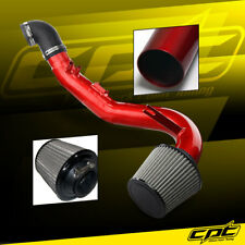 06-11 Honda Civic Si 2.0L 4cyl Red Cold Air Intake + Stainless Steel Filter