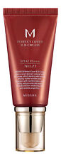 MISSHA M Perfect Cover BB Cream SPF 42 PA+++ No.27 Honey Beige. Sealed Fresh