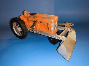 Vintage Hubley No 500 Front Loader Tractor