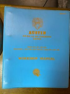 Austin A40 / A50 & A55 Cambridge Saloon Workshop Service Manual Great Condition