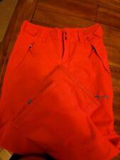 Arctix Orange Melon & Teal Insulated Snow Pants Girls Large