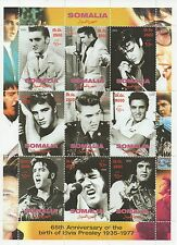 ELVIS PRESLEY KING OF ROCK N ROLL 2000 MNH STAMP SHEETLET