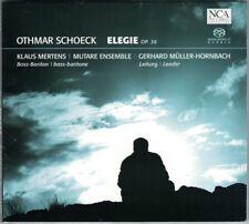 SACD Othmar SCHOECK 1886-1957 Elegie Op.36 Klaus MERTENS Gerhard Müller-Hornbach