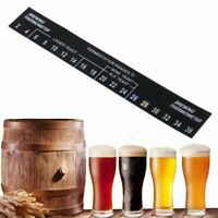 Portable Digital Stick On Wine Thermometer Home Brew Beer Temperature