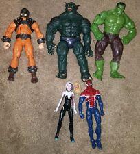 Marvel Legends Lot Hulk Abomination Spider Gwen UK Spiderman
