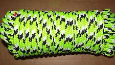 "NEW 1/2"" (12.7mm) x 42' 16-Strand Arborist Climbing Rope, Static Line"