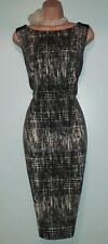 Mariella Rosati Gorgeous Wool Blend Office Business Pencil Dres 1416 uk us 10 12