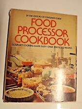 1976 Food Processor Cookbook - 200+ Tested Recipes - FREE Postage in the USA
