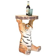 Kare Design Tyson Tiger Bedside Table Wild Animal Themed Side Table