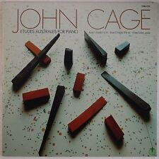 JOHN CAGE: Etudes Australes Piano PROMO Tomato NM US 2x LP Vinyl Avant Garde