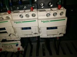Schneider Electrical Contactor LC1D18 TeSys used