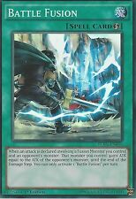 YU-GI-OH CARD: BATTLE FUSION - SUPER RARE - FUEN-EN056 1ST EDITION