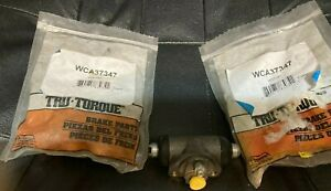 NEW PART #WCA37347 REAR BRAKE WHEEL CYLINDERS 1968-1979 FIAT MADE IN ITALY