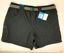 Columbia Sandy River Cargo Short Black Size L Large With Tags Omni Shade 30