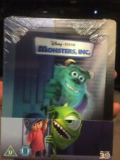 Monsters Inc. Lenticular Steelbook (Loose Disc)