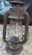 DIETZ Junior COLD BLAST Kerosene oil lamp tabular Lantern original Globe 1920-40