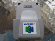 AUTHENTIC Nintendo 64 ORIGINAL Official OEM Rumble Pak Pack N64 Tested Works