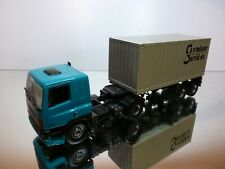 TEKNO HOLLAND DAF 85 360 ATI TRUCK + CONTAINER TRAILER - 1:50 - VERY GOOD
