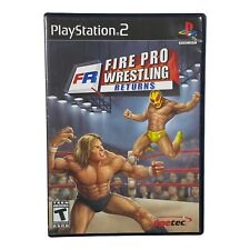 Fire Pro Wrestling Returns (Sony PlayStation 2, 2007)  PS2 No Manual