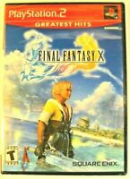 Final Fantasy X PS2 Greatest Hits brand new sealed vintage authentic ship fast
