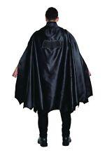 Deluxe Batman vs Superman Adult Black Batman Costume Cape Dawn of Justice Mens