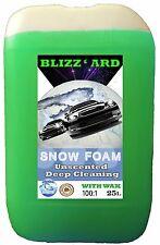 BLIZZ'ARD SNOW FOAM WASH with WAX 25L LITRE NON-CAUSTIC