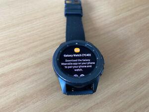 Samsung Galaxy Smart Watch SM-R810 42mm Midnight Black Case Classic Buckle