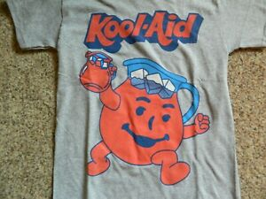 Kool-Aid boys size 10/12 grey T-Shirt