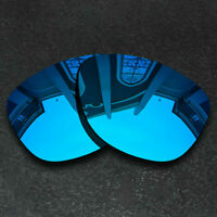 Blue Replacement Lenses for-Oakley Frogskins Sunglasses Frame Polarized