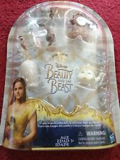 New Disney Beauty and the Beast Castle Friends Collection, Hasbro Figurines
