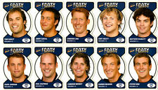 Geelong Cats  AFL Select Footy Faces Cards  FREE SHIPPING