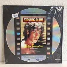 Staying Alive John Travolta   Laserdisc PAL Deutsch    Fast wie Neu / Near Mint