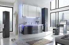 Pelipal > Badmöbel CONTEA 14 LED Waschtisch weiß 137 cm Stahlgrau Metallic NEU