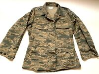 US Military Utility Camouflage Air Force Coat Uniform Women Size 10R